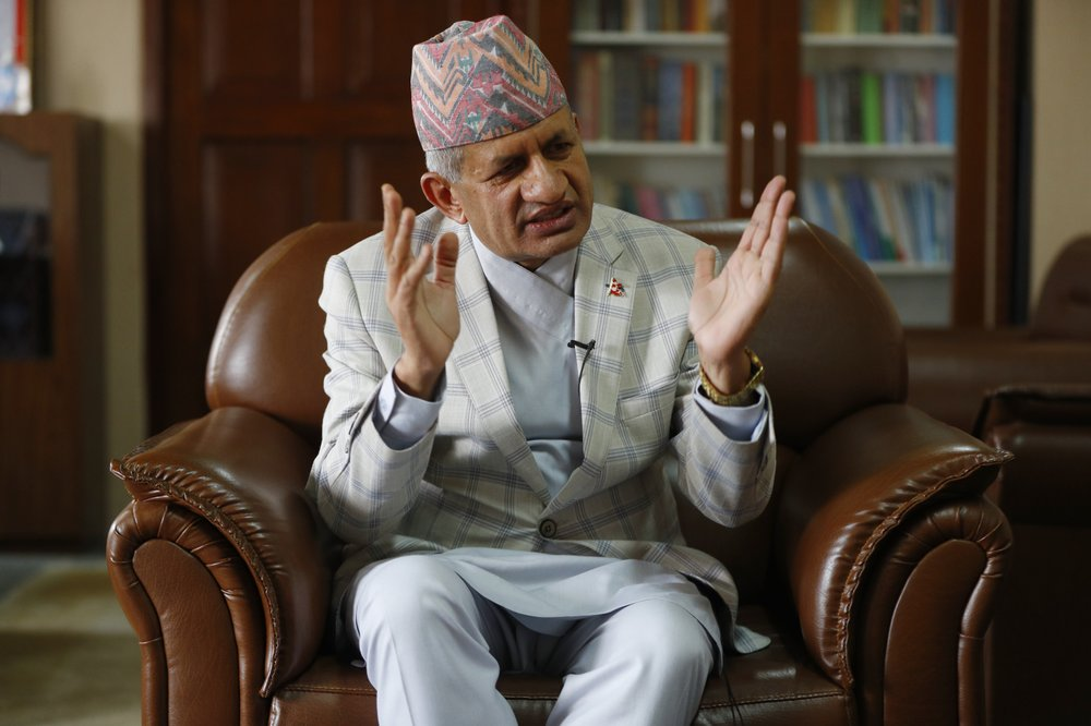 Nepal's foreign minister Pradeep Gyawali says the country is still awaiting  a response from India on holding talks to resolve a border dispute