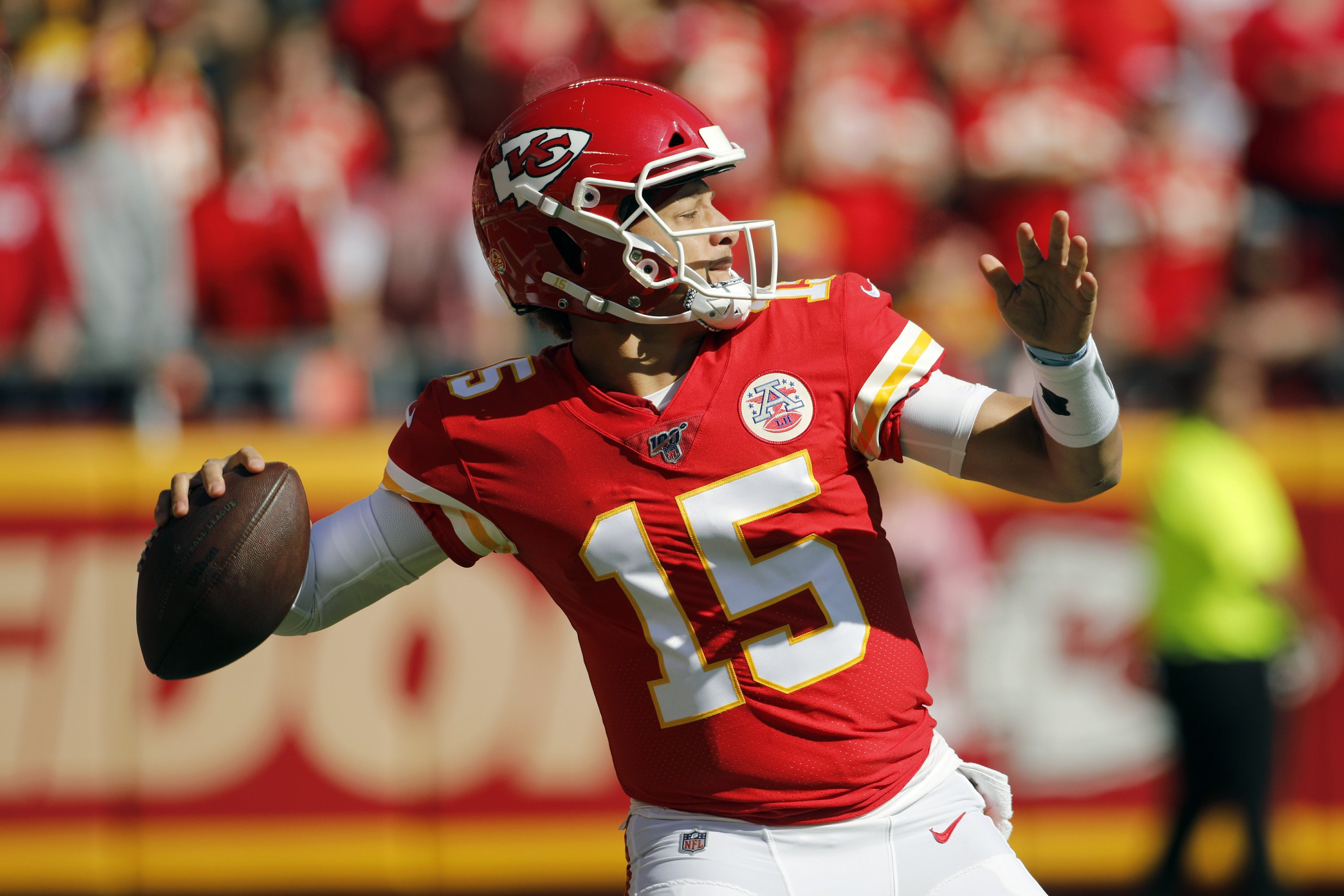 Chiefs' run-pass option game has suddenly gone awry