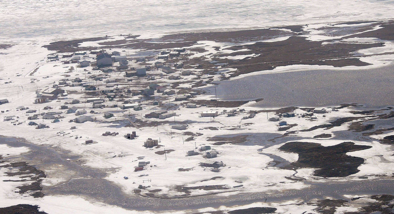 Melted Alaska sea ice alarms coast residents, scientists