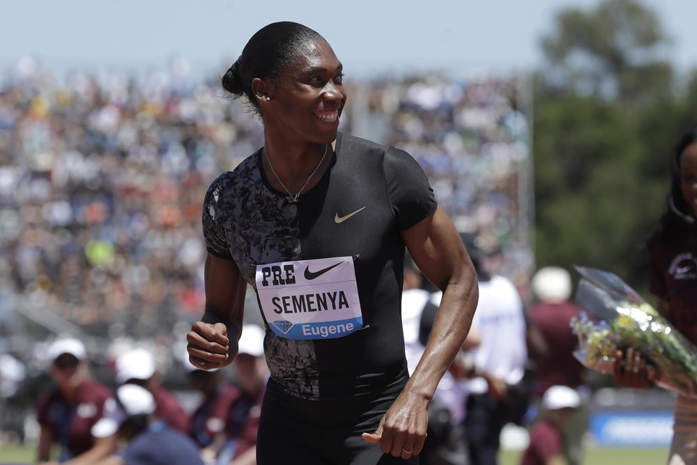 Not done: Caster Semenya runs again, says 'I'm here to stay'