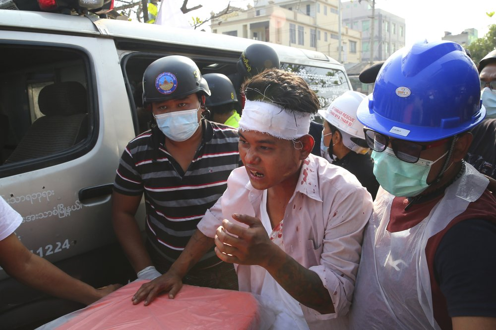 Myanmar brutally cracks down on protests;  things may get worse