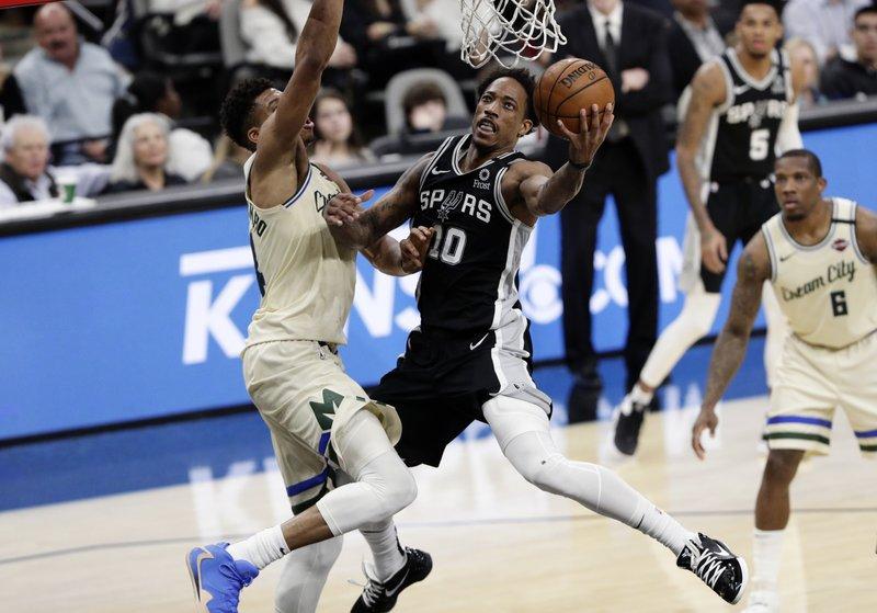 Spurs Hit 19 3 Pointers To Stop Nba Best Bucks 126 104