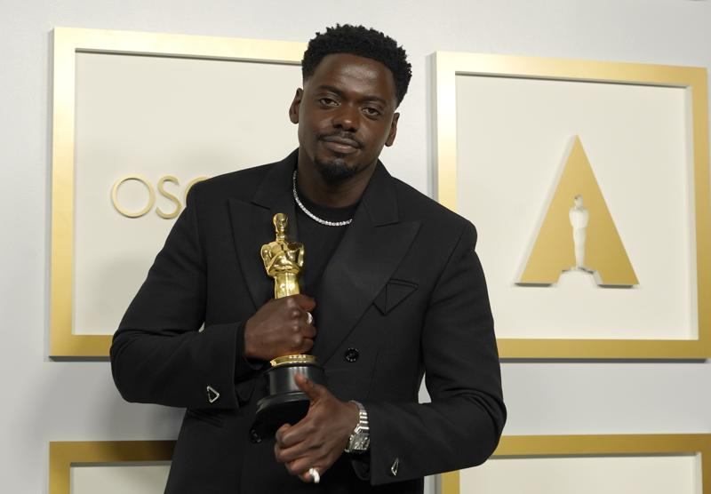 Daniel Kaluuya wins first Oscar for supporting actor