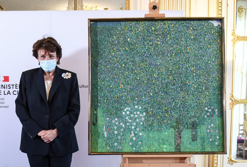 France to return Nazi-looted Gustav Klimt landscape painting to rightful Jewish heirs