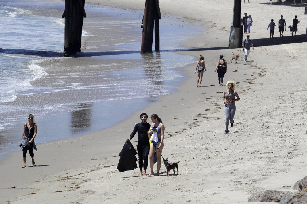 New beach rules to prevent virus spread in California