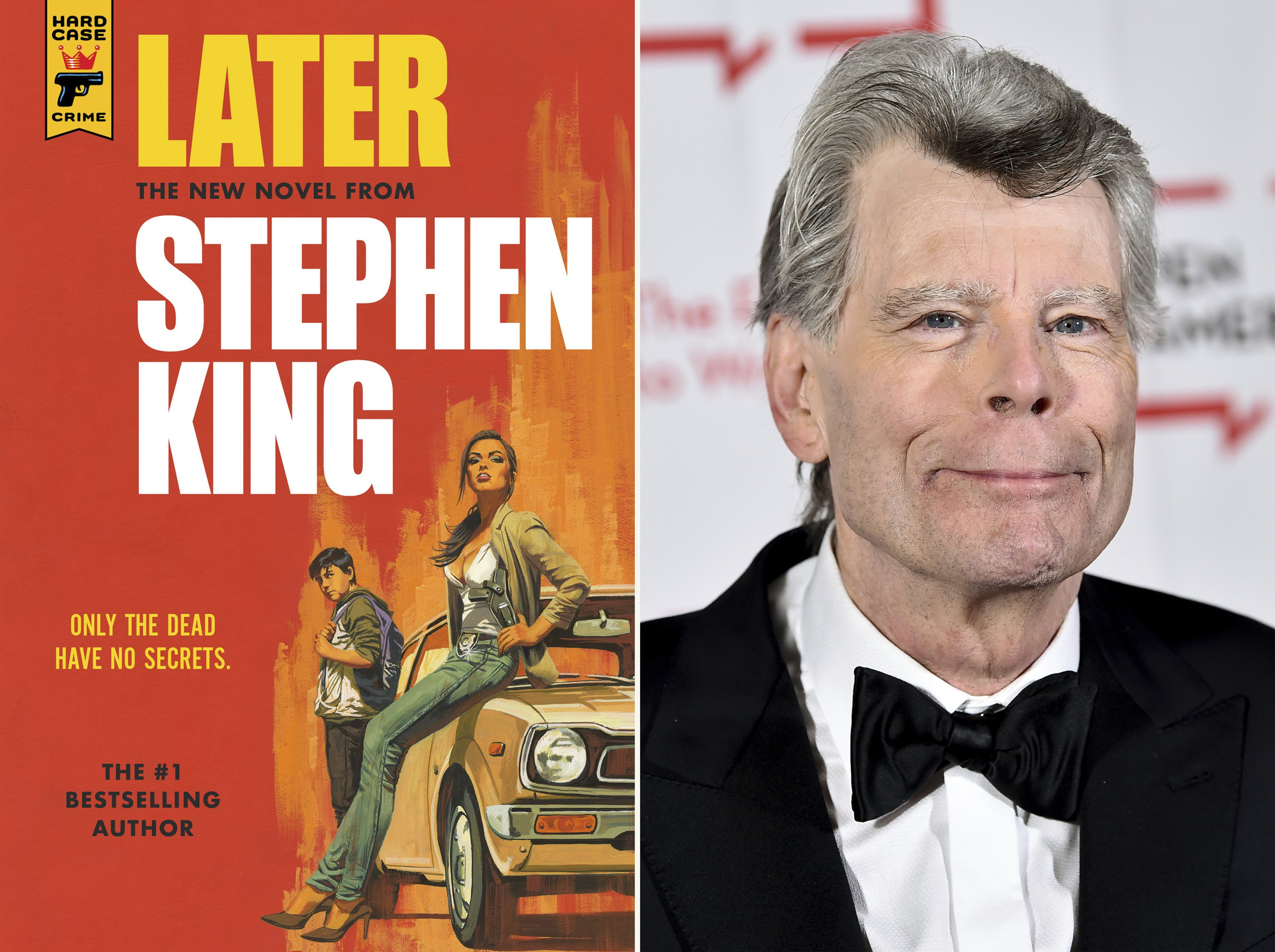 Stephen King talks about crime, creativity and new novel