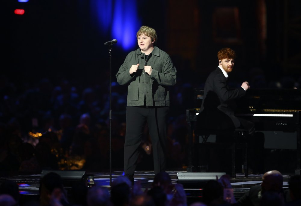 Lewis Capaldi, Dave win at politically tinged Brit Awards
