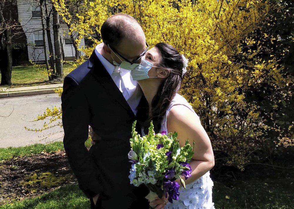 Lawns replace church weddings during coronavirus pandemic plague