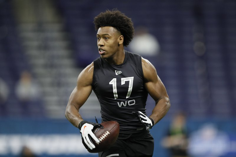 Washington Redskins rookie receiver Antonio Gandy-Golden from Liberty University tested positive but is now clear of the virus