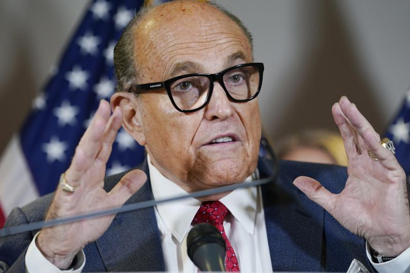 Rudy Giuliani search warrant resolves dispute in the Justice Department