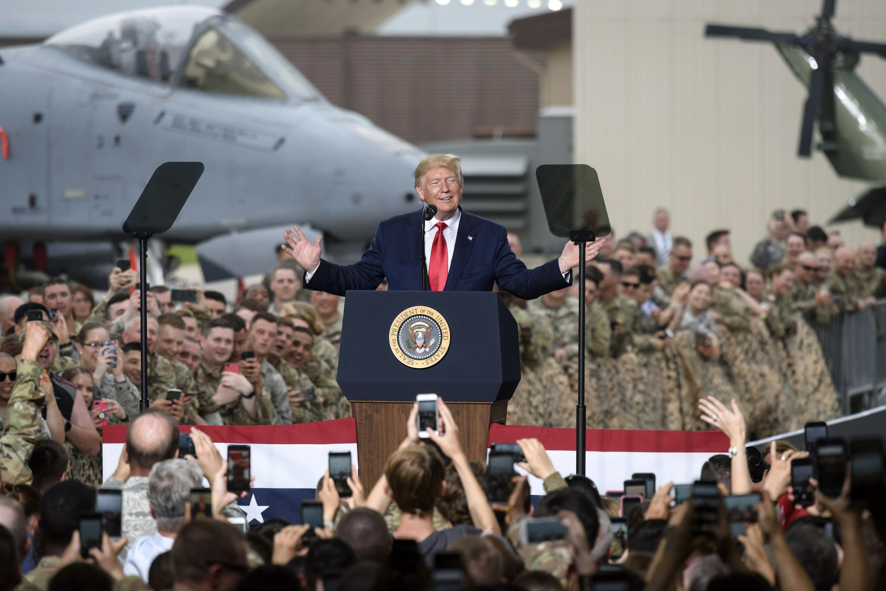 AP FACT CHECK: Trump often is wrong about military matters