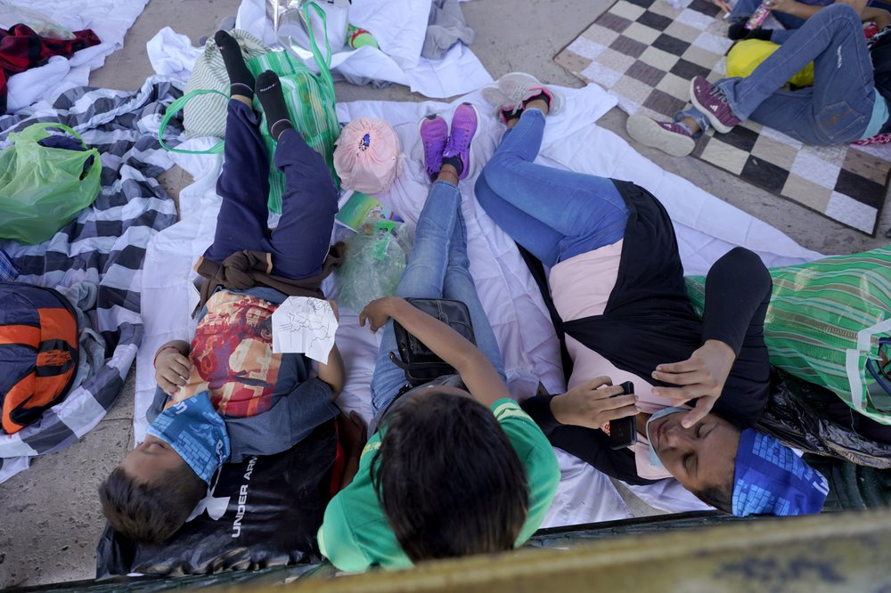 Biden administration scrambling to bring under control migrant surge at U.S.-Mexico border left by Trump