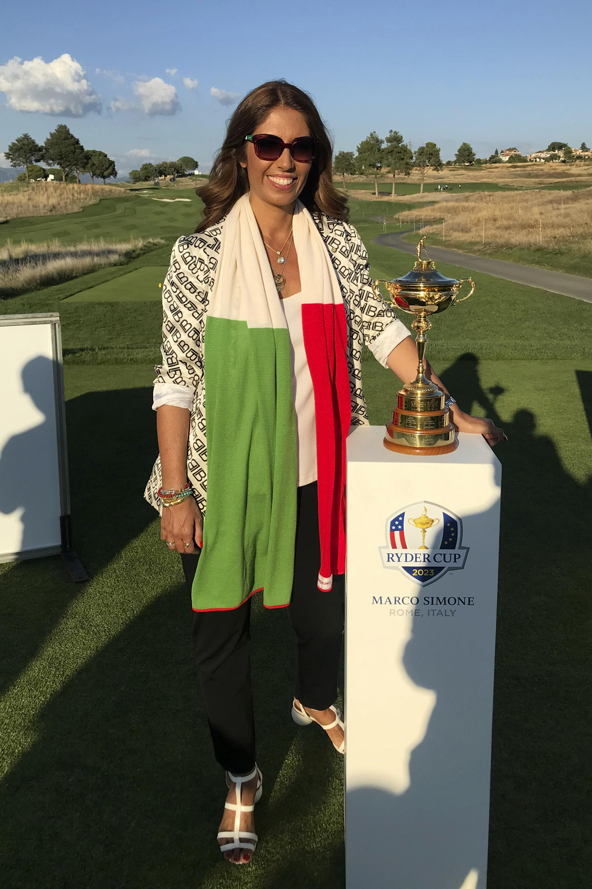 In 2023, the Ryder Cup will blend with high fashion in Italy - Associated Press
