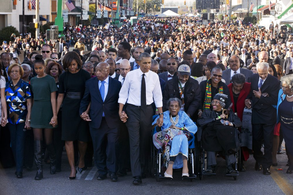 Bloody Sunday memorial honors late civil rights giants; activists encouraged to continue the fight for voting rights