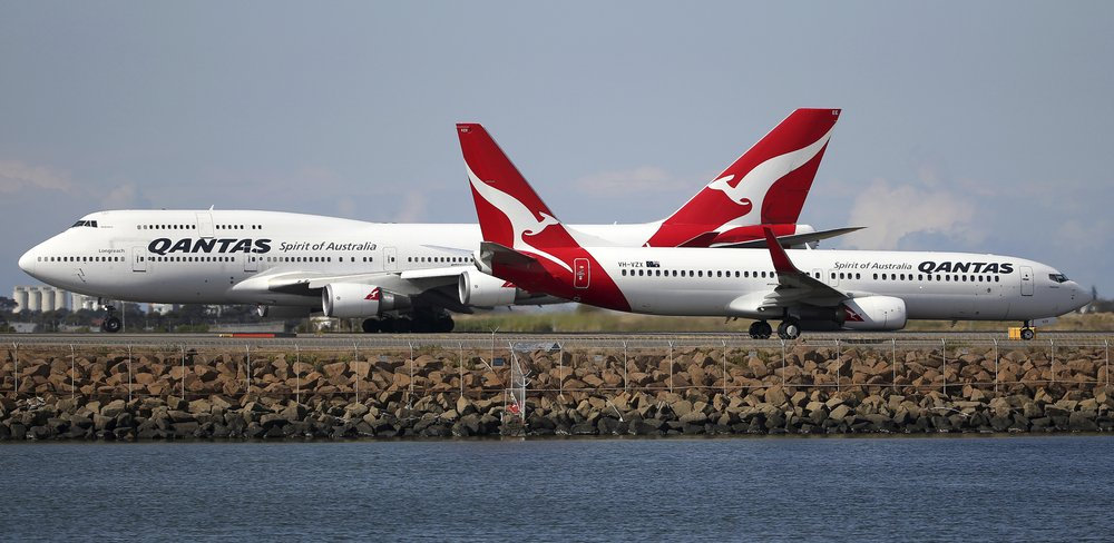Qantas Airways expects to start international flights in October