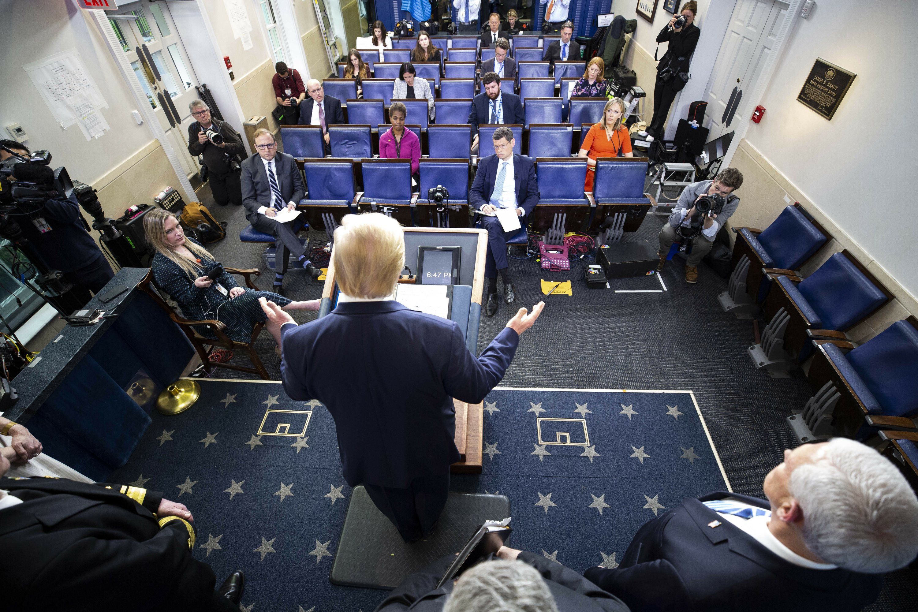 Networks face decision: How long to stick with Trump?