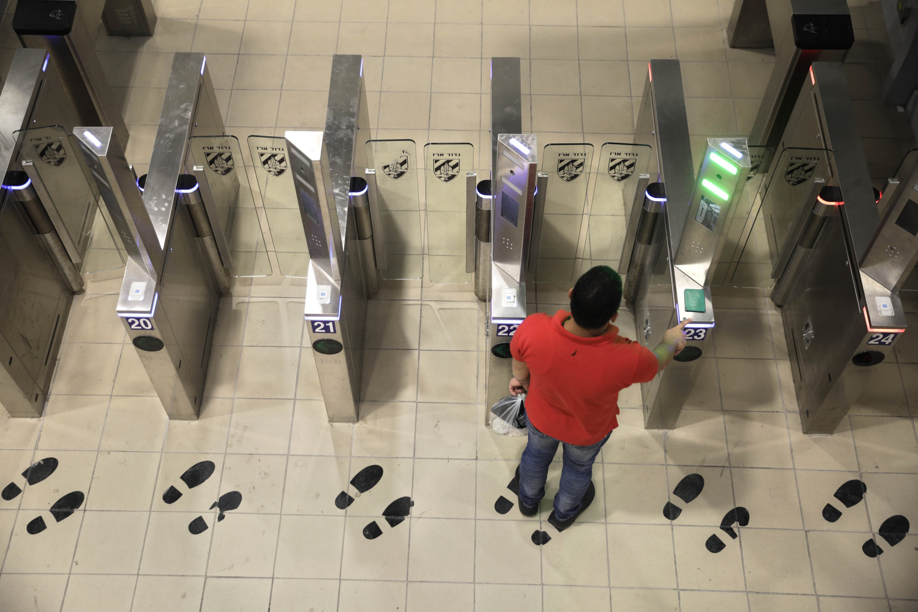 Israel invests in high-tech upgrades at West Bank crossings