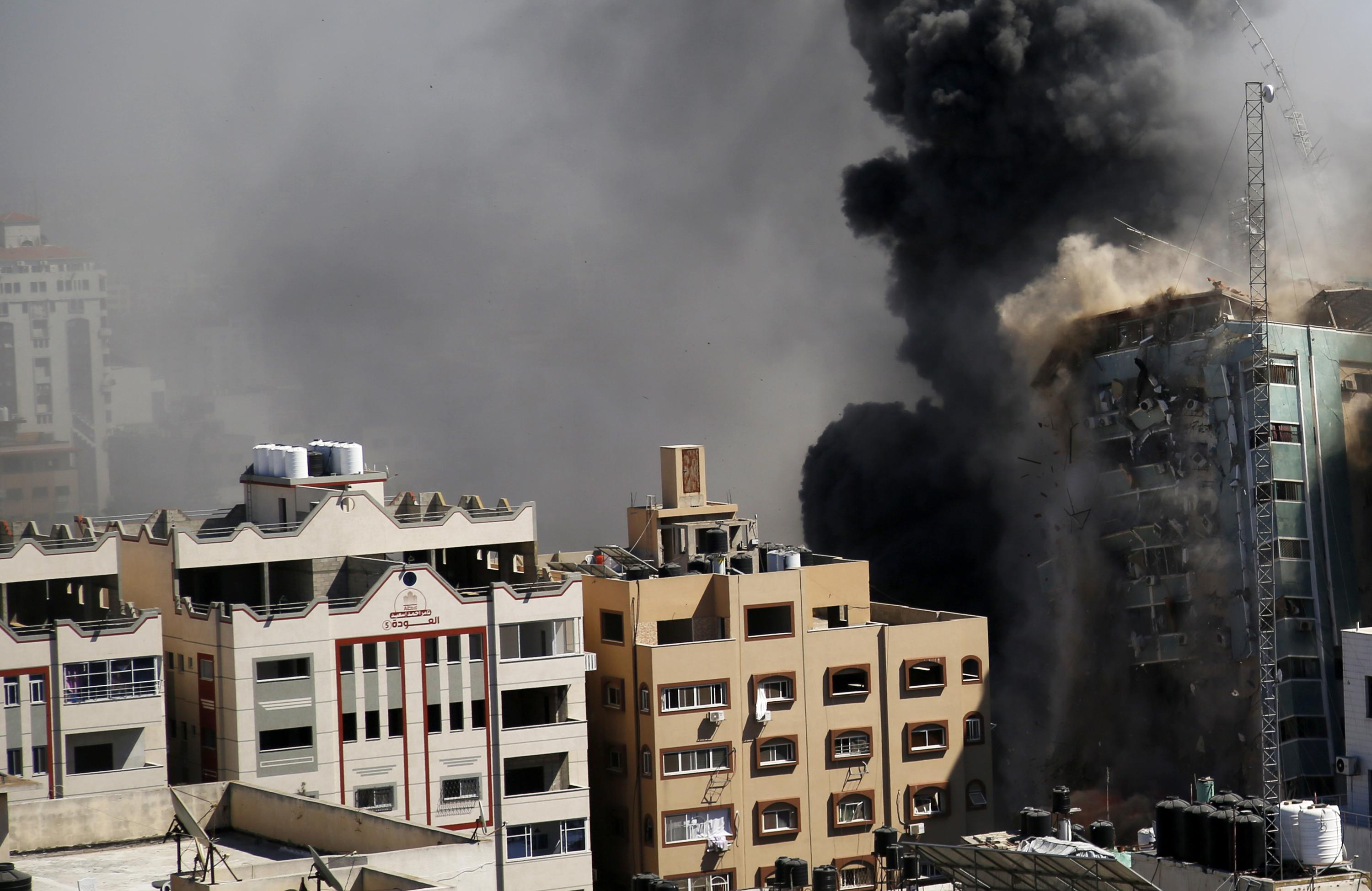 AP statement on Israeli attack on building housing AP office