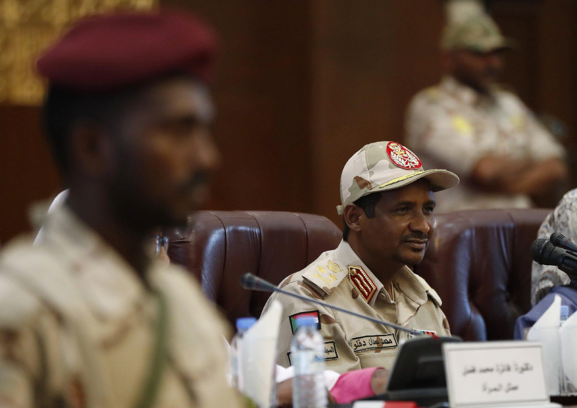 Sudan military leader says perpetrators of crackdown ID'd