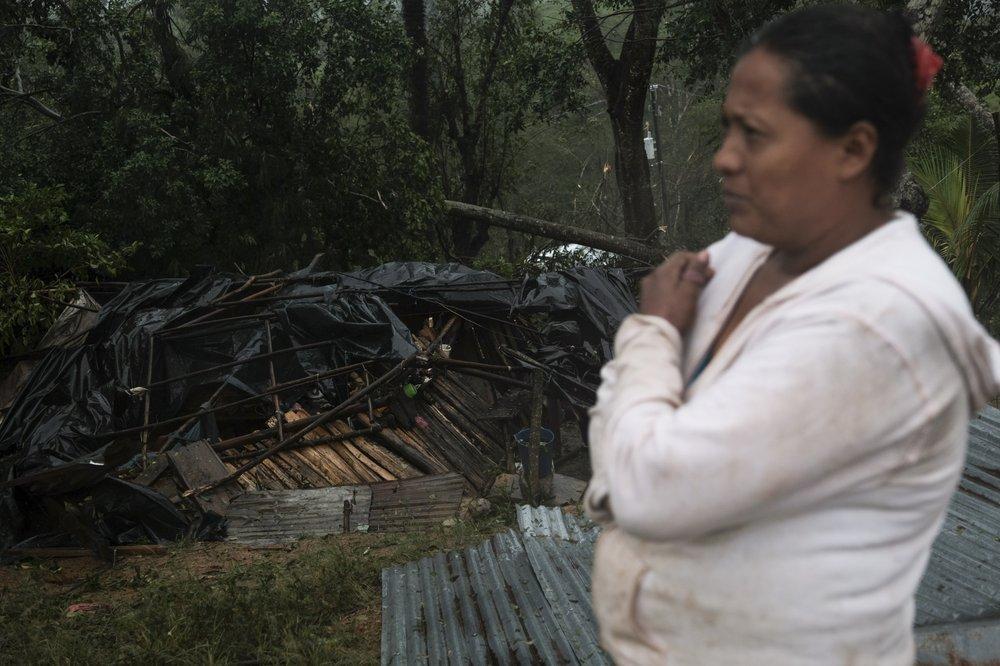 Hurricane Iota takes a second hit on Nicaragua in 2 weeks