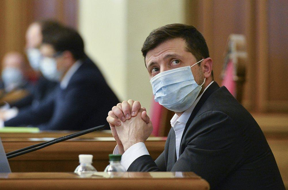 Ukraine's president Volodymyr Zelenskiy tests positive for coronavirus