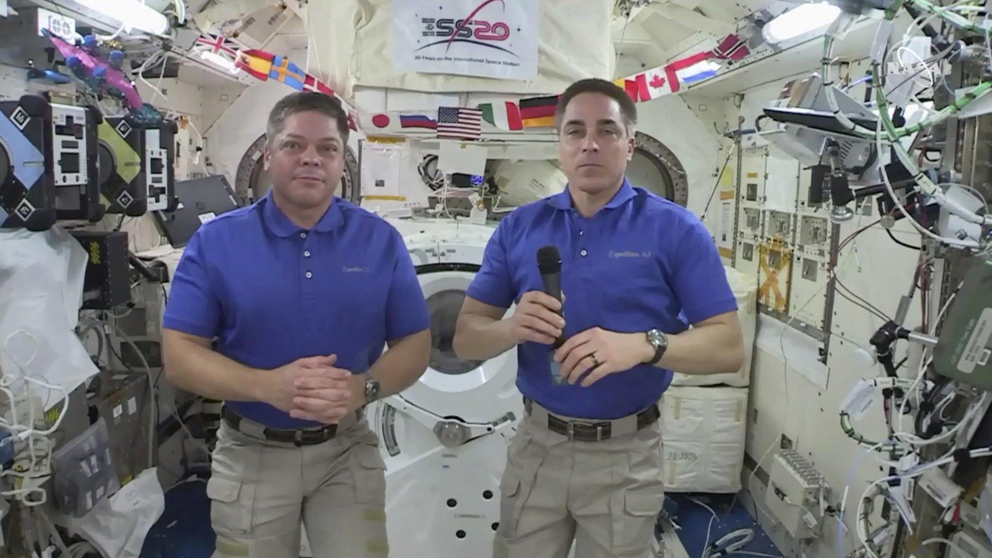 Astronaut says losing mirror on spacewalk was 'real bummer' - The Associated Press thumbnail