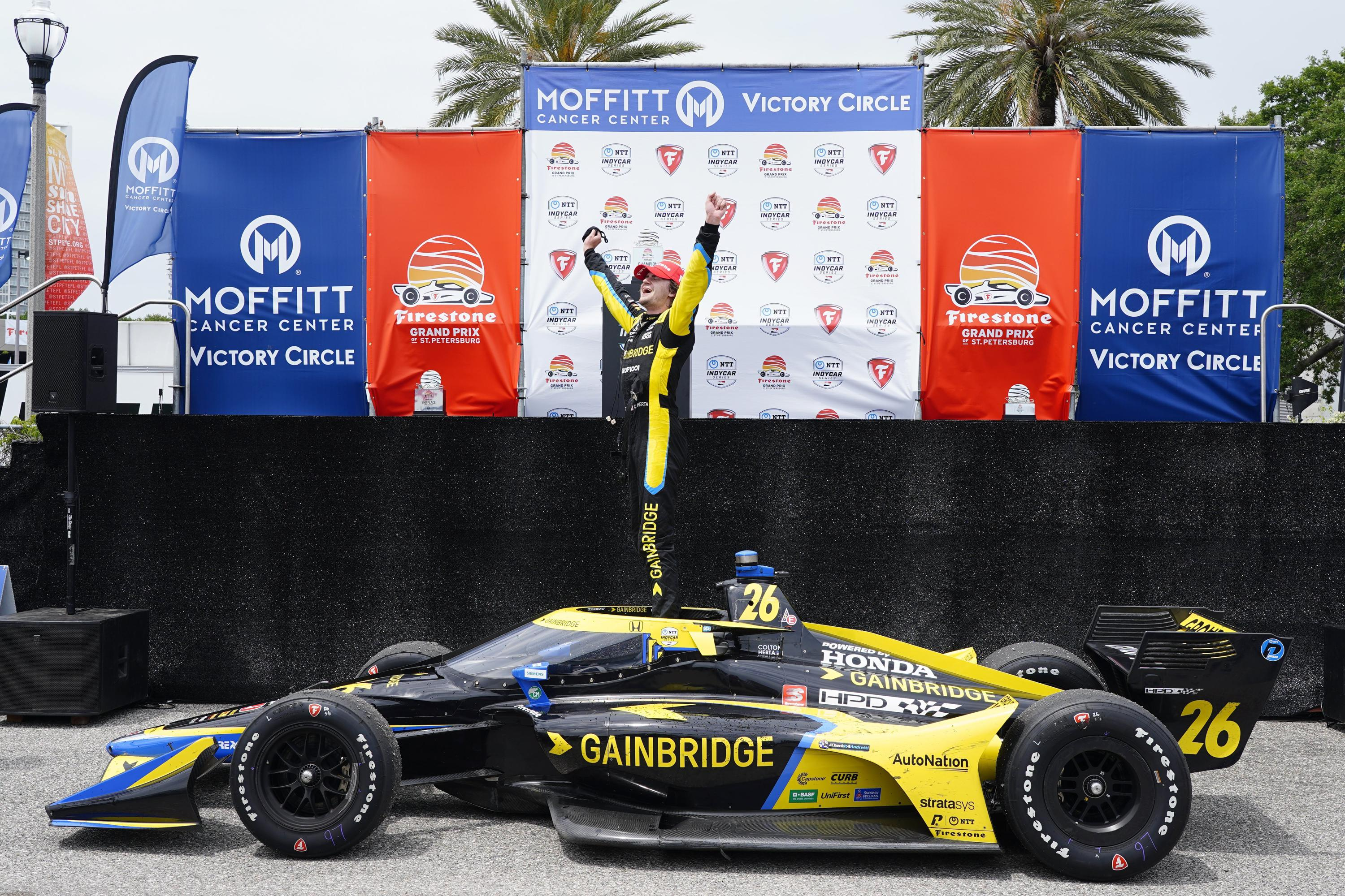 Herta staying put: American signs extension with Andretti