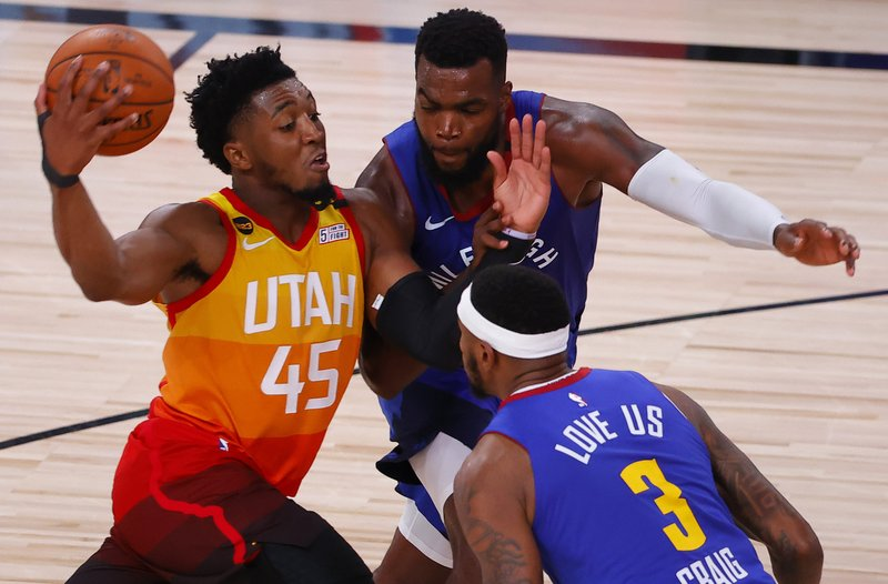 Mitchell Scores 51 Points Jazz Beat Nuggets For 3 1 Lead