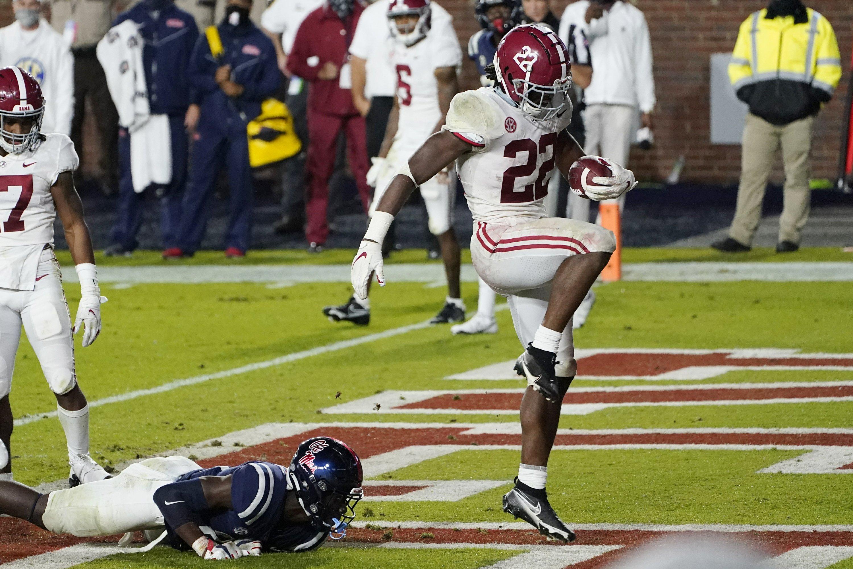 Alabama S Najee Harris Braces For Georgia S Stingy Defense