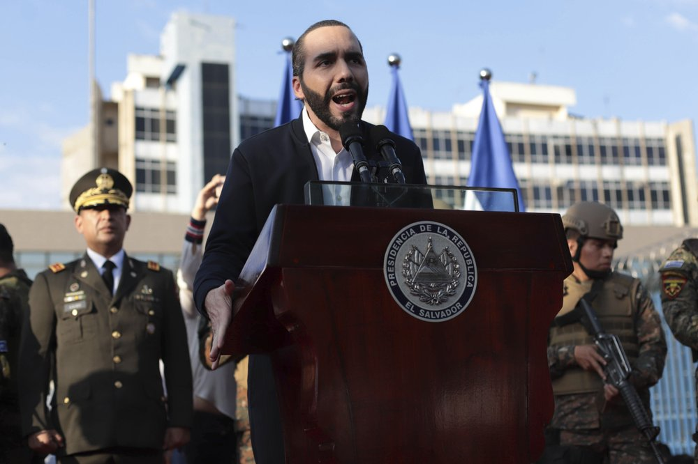 El Salvador President Nayib Bukele is fighting both the coronavirus and the country's powerful street gangs with tough policies and tactics that some say are putting the young democracy at risk