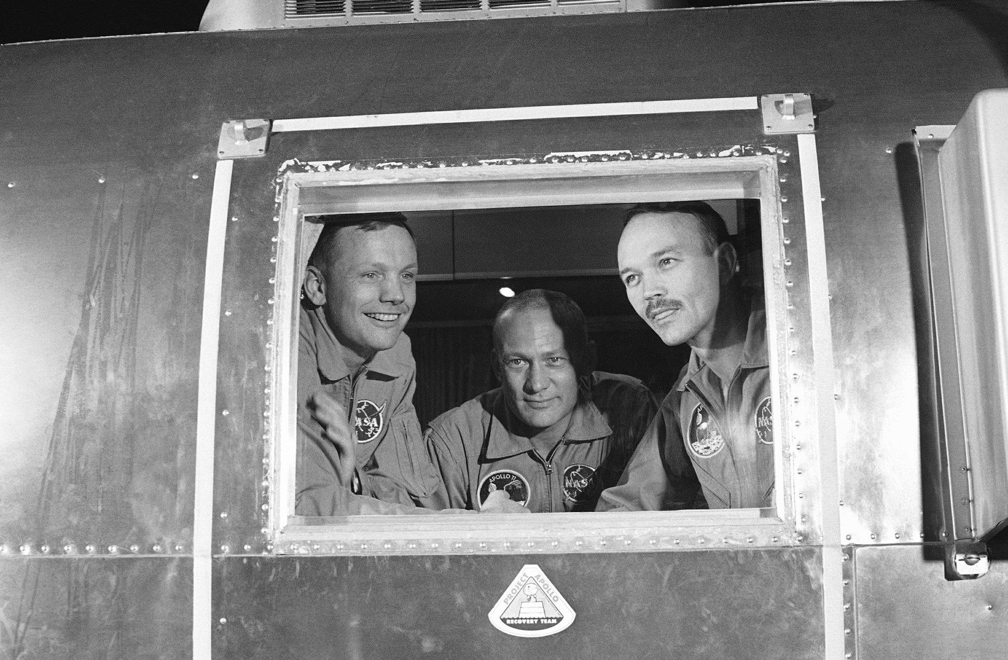 Apollo 11's 'amiable strangers' Armstrong, Aldrin, Collins