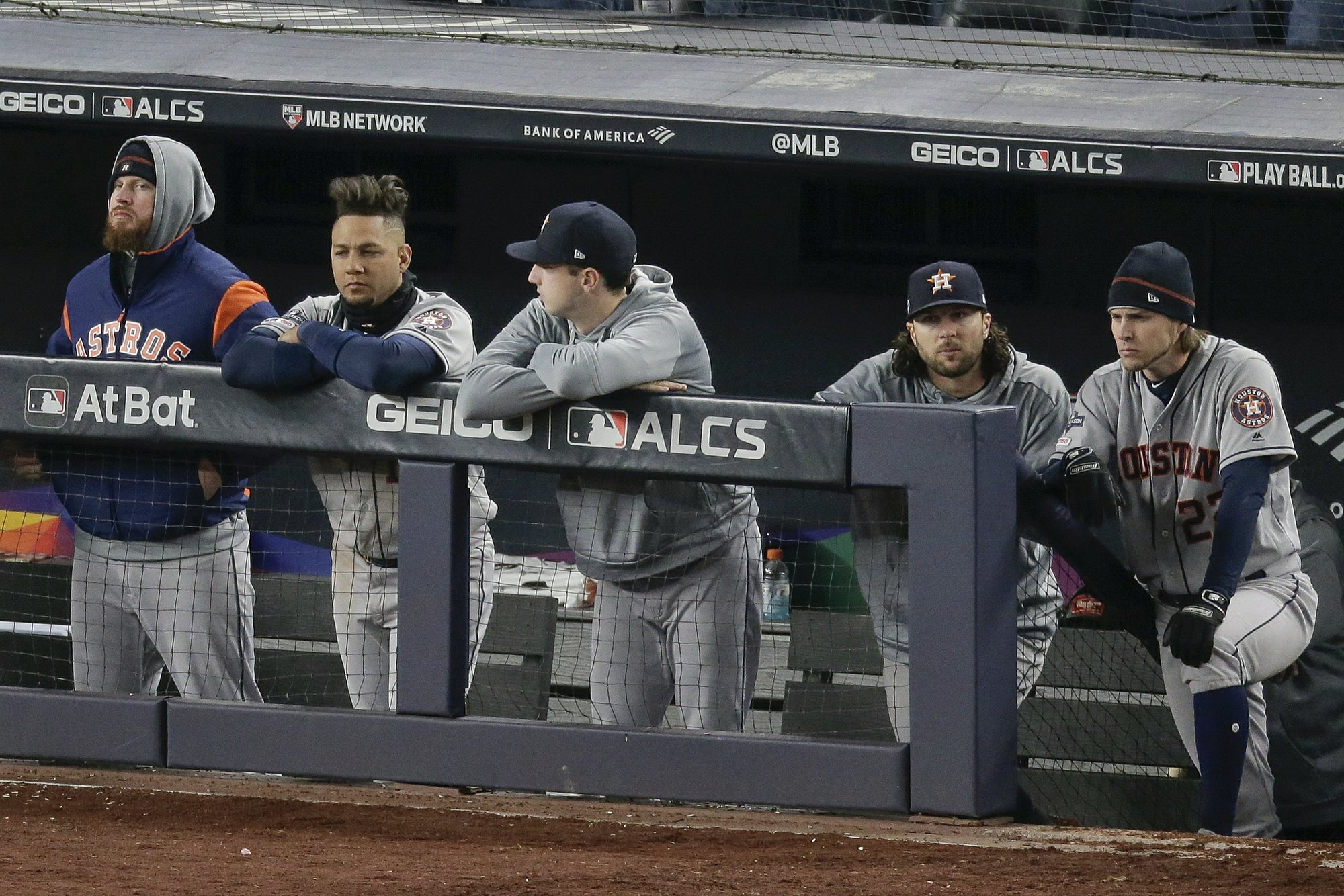 Astros' Peacock to start against Yankees in Game 6 of ALCS
