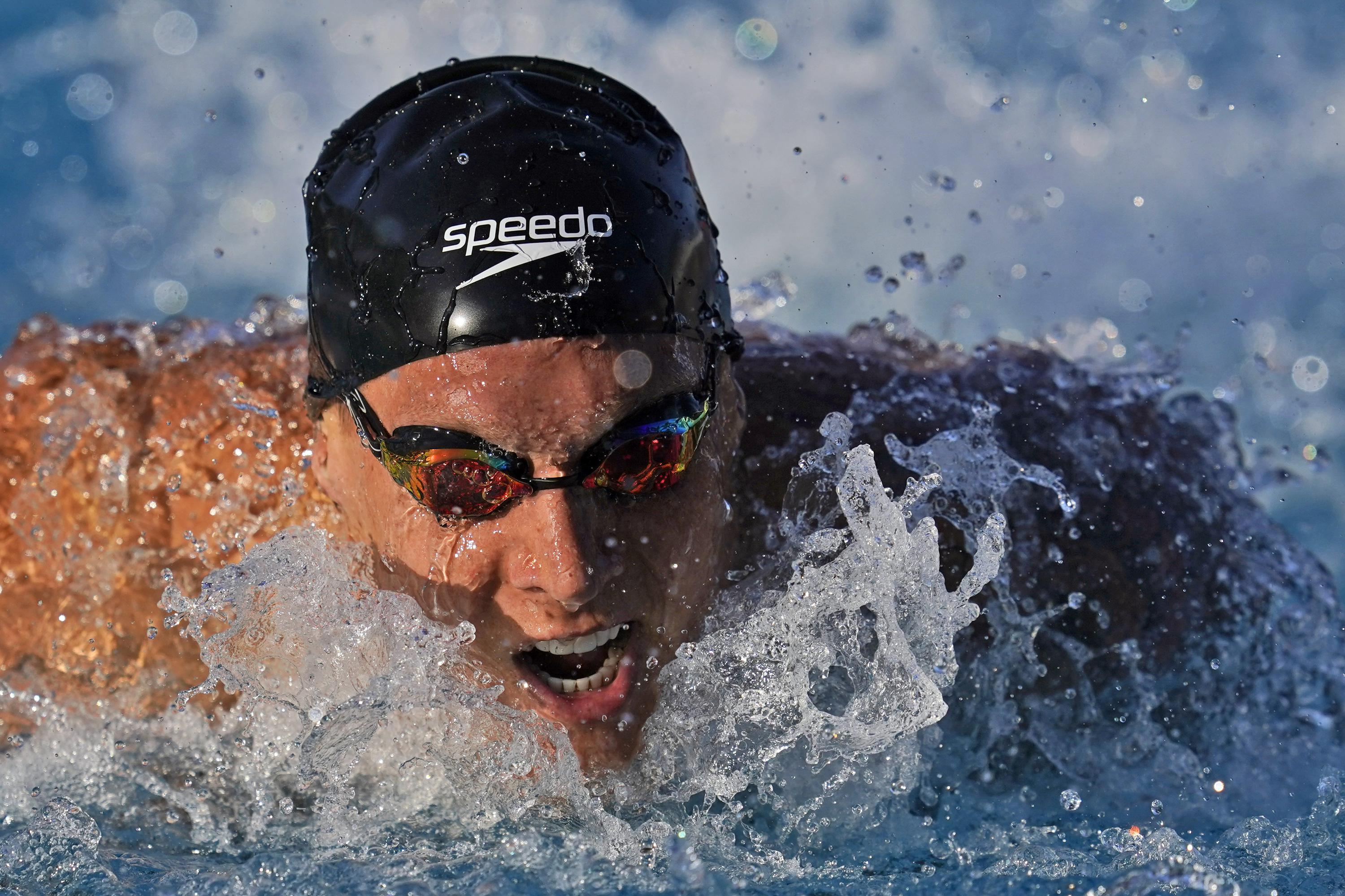 Dressel, Ledecky lead chase for Olympic berths at US trials - Associated Press
