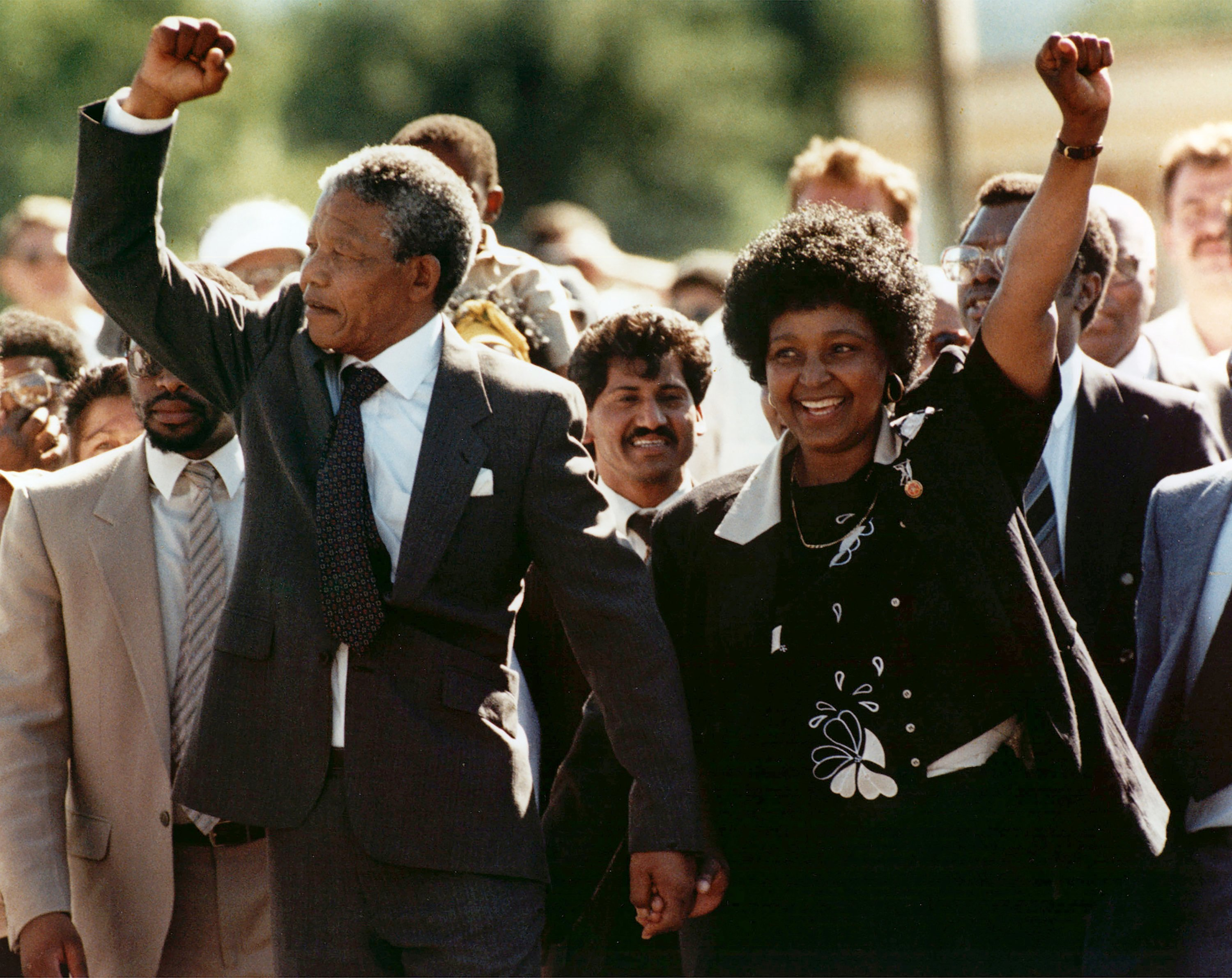 AP Was There: Nelson Mandela released from jail 30 years ago