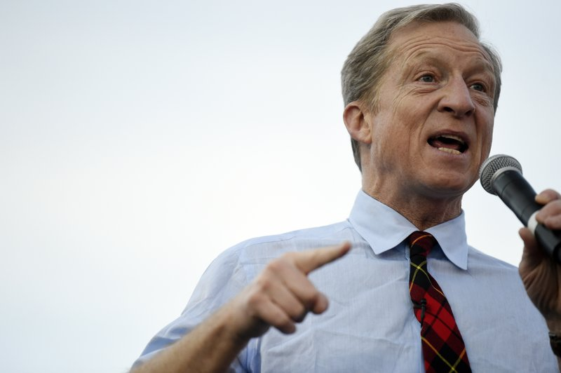 AP – With Democrats In New Hampshire, Tom Steyer Has SC To Himself