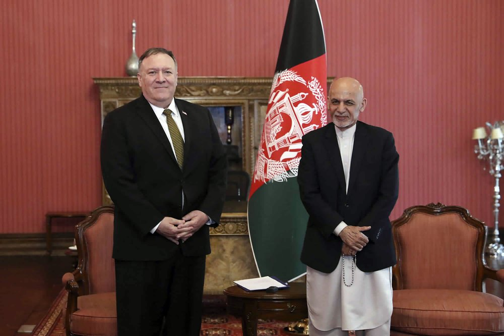Mike Pompeo takes trip to Kabul to continue peace talks