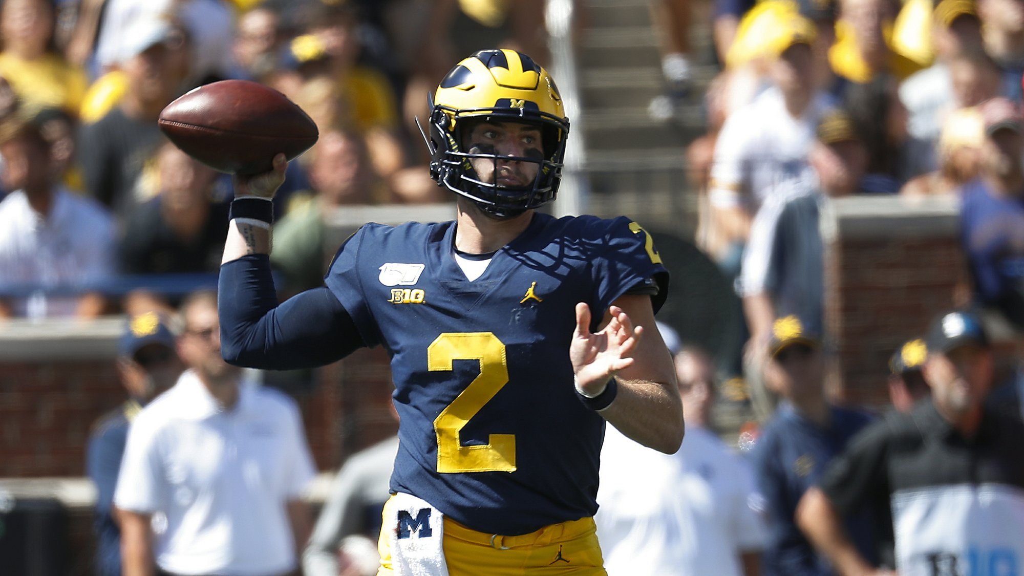 No. 11 Michigan's offense faces tough task vs No. 13 Badgers