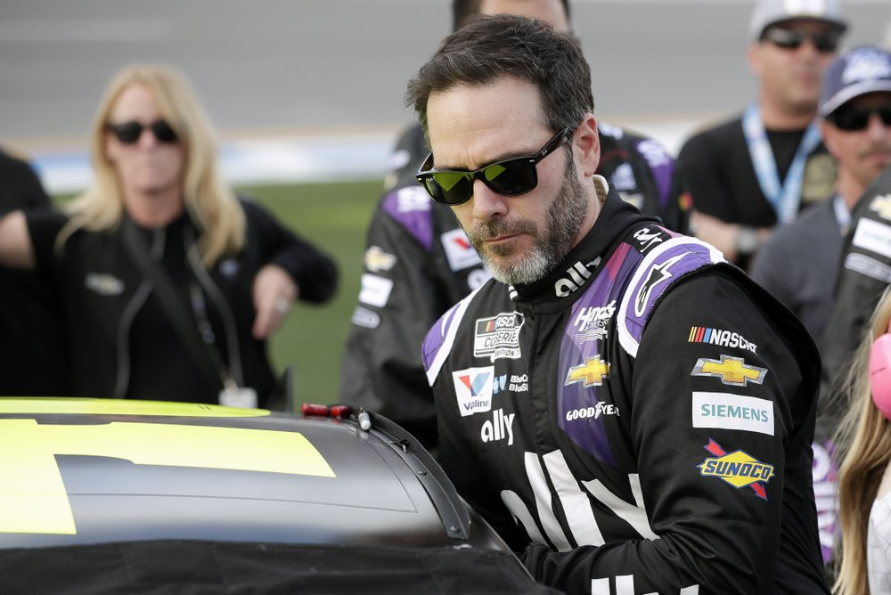 NASCAR champion Jimmie Johnson tested positive for the virus knocking him out of what was expected to be his final Brickyard 400