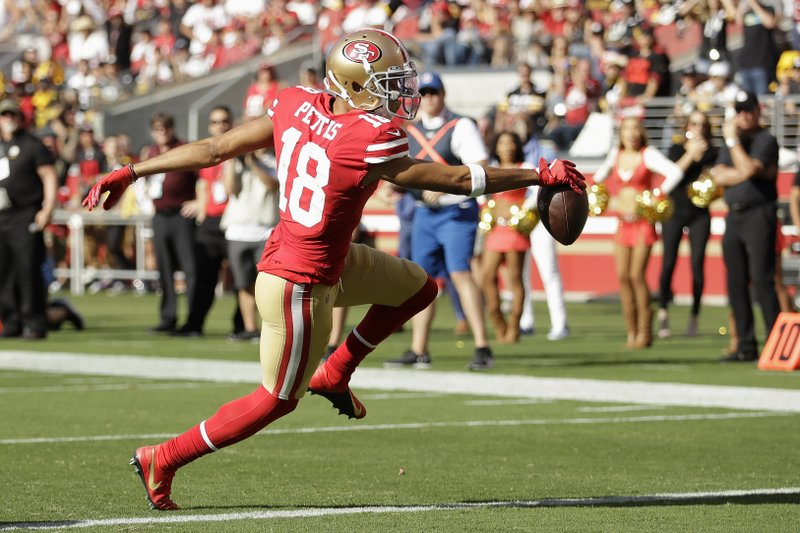 cheap for discount 4235c 690a0 Sloppy 49ers beat Steelers 24-20 on late Garoppolo TD pass