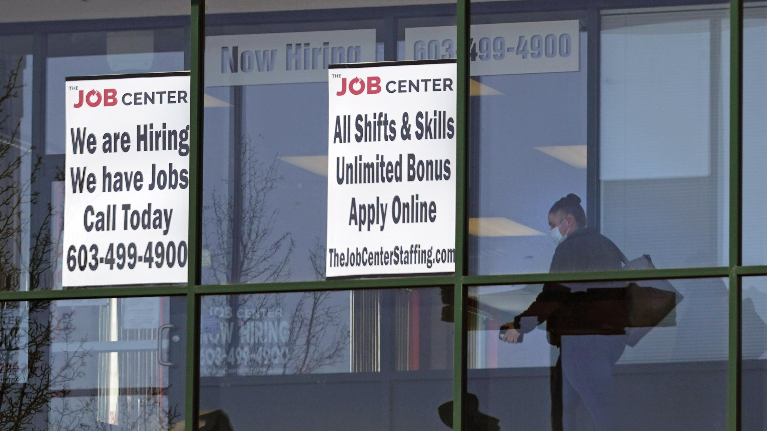 U.S. Showing Hiring Gain, Lower Unemployment . . . But For How Long Amidst Pandemic