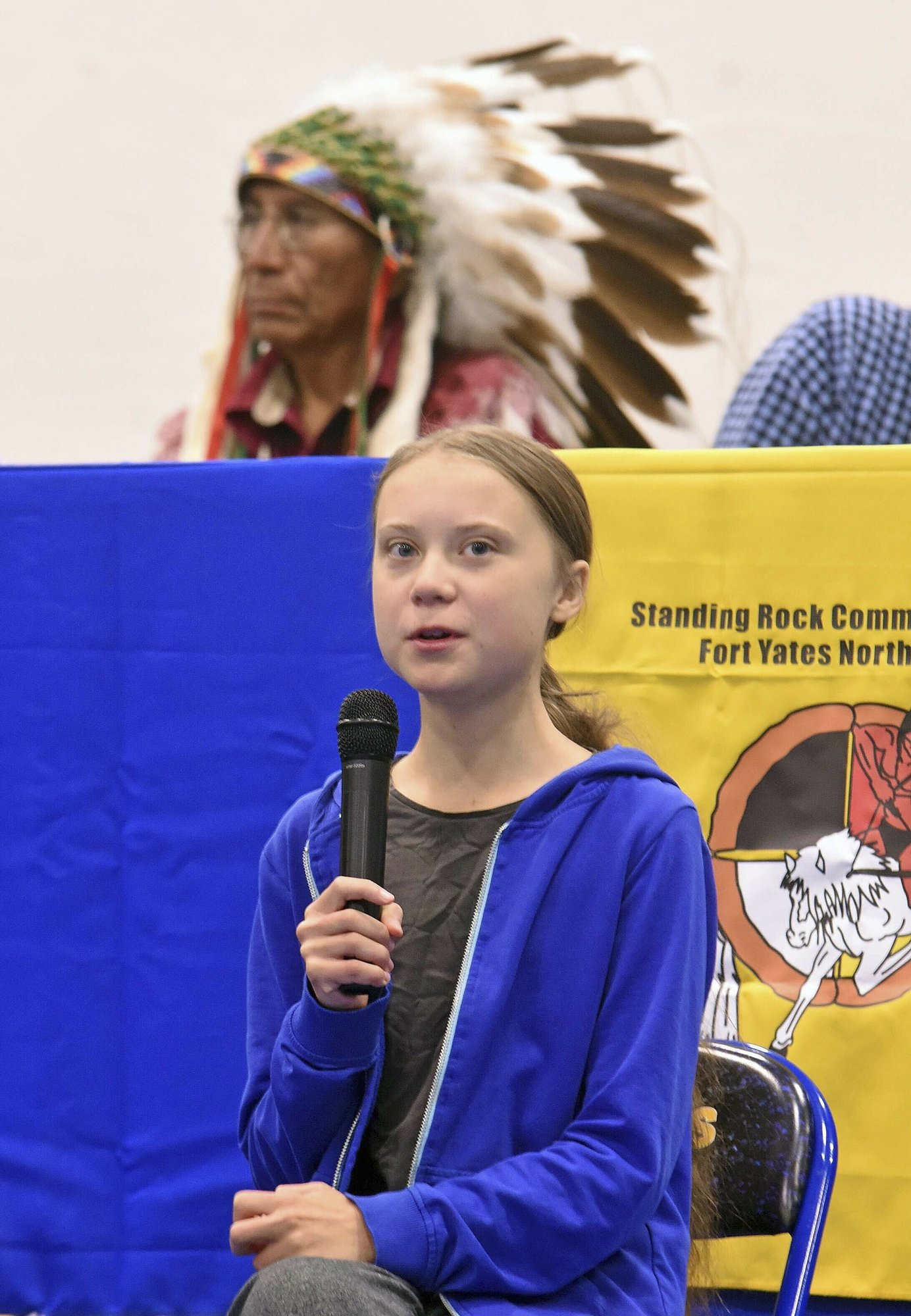 Swedish teen urges youth to demand climate change action