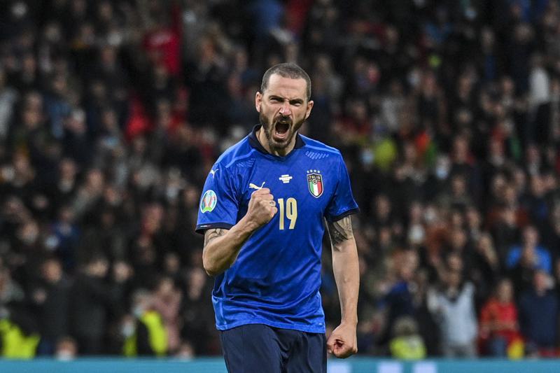 Italy defender Bonucci not familiar to everyone at Euro 2020