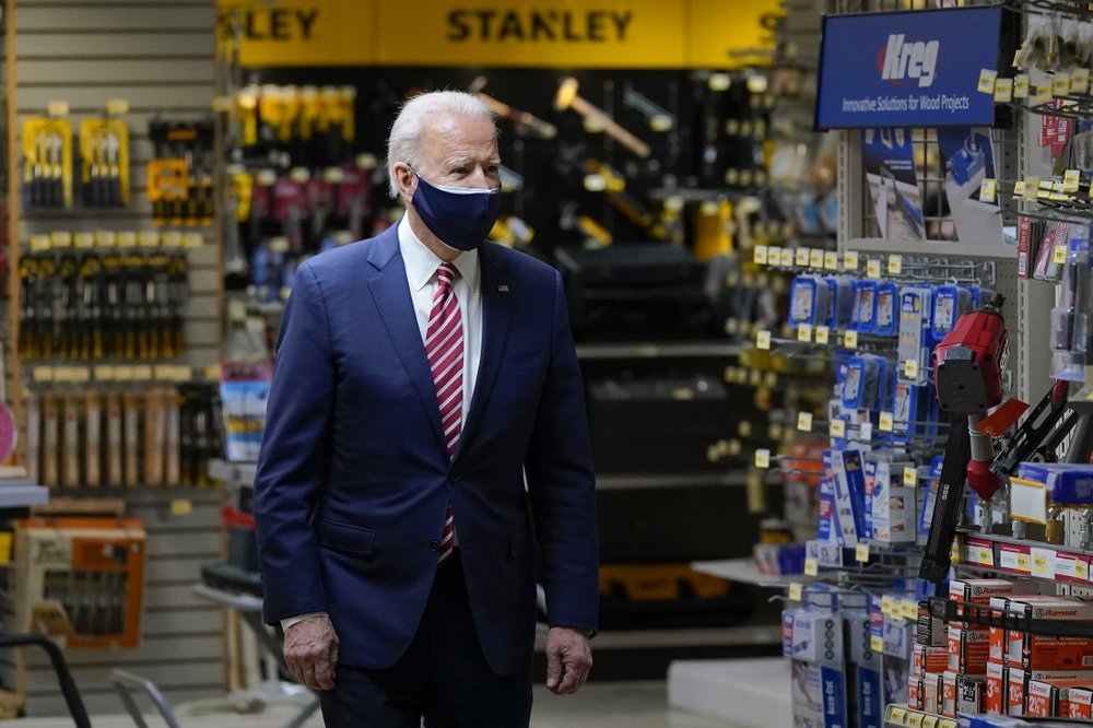 President Biden visits small businesses overlooked by Trump to highlight changes to PPP
