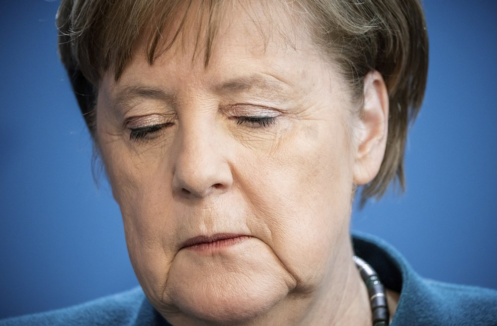 German Chancellor Angela Merkel in quarantine after testing positive for virus
