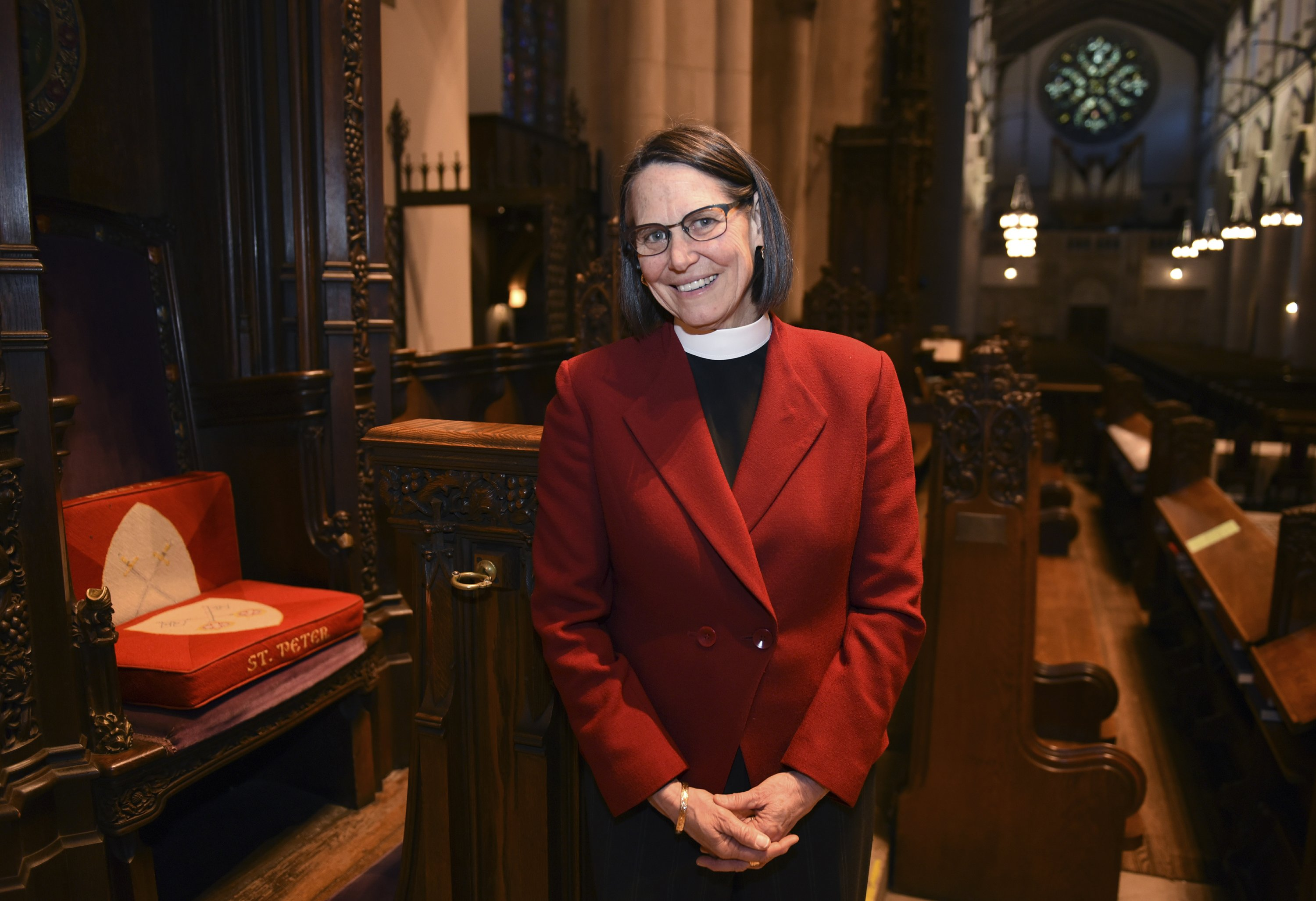 First female, lesbian leads Michigan Episcopal diocese