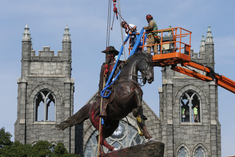 SPLC: At least 160 Confederate symbols taken down in 2020