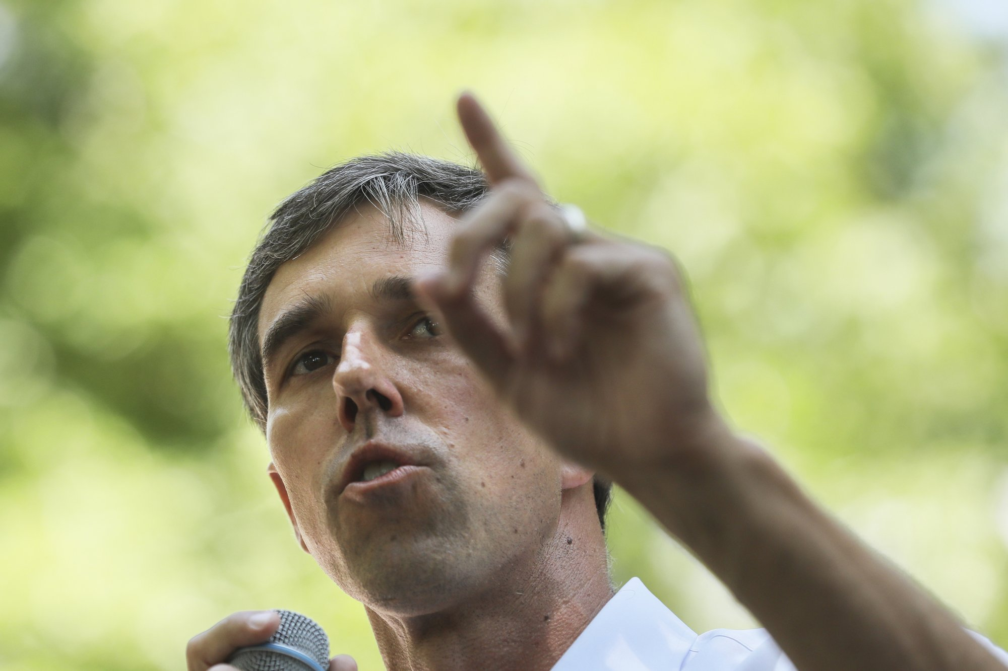 O'Rourke announces 1st campaign hires in early voting Nevada