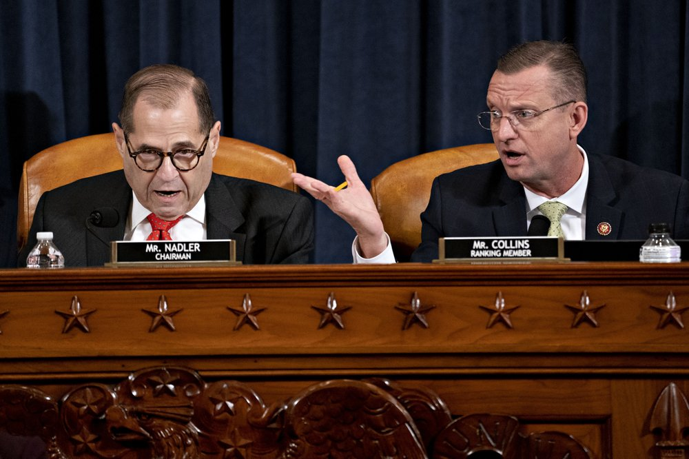 Democrats push Judiciary Committee impeachment vote to Friday
