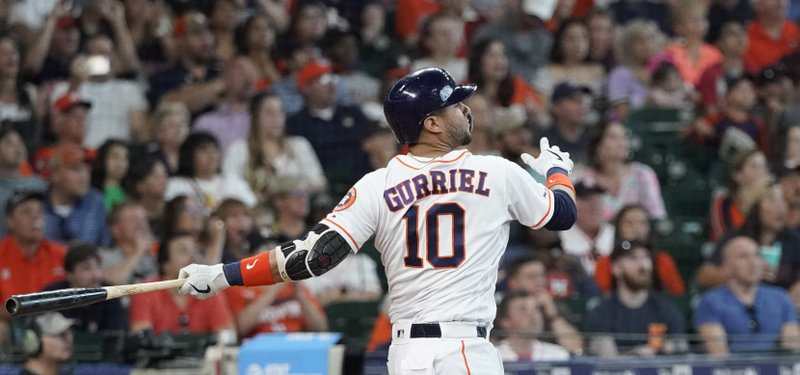 new product 3f227 f4755 Springer's single in 10th lifts Astros over Angels 11-10