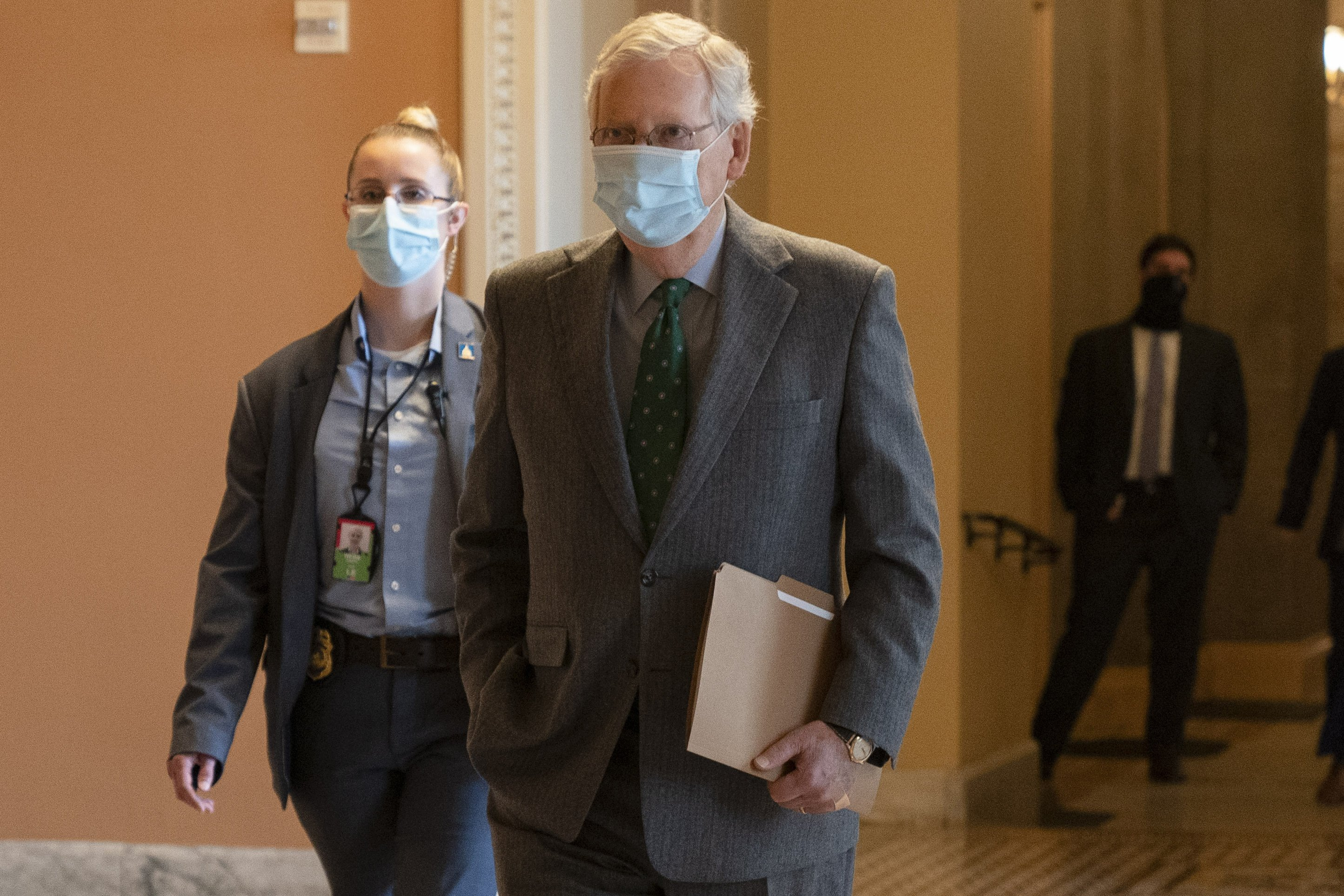 Problems With His Health Mcconnell Says Of Course Not
